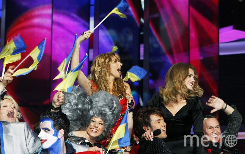 "Светлана Лобода на ""Евровидении-2009"". Фото Getty"
