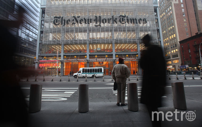 The New York Times. Фото Getty