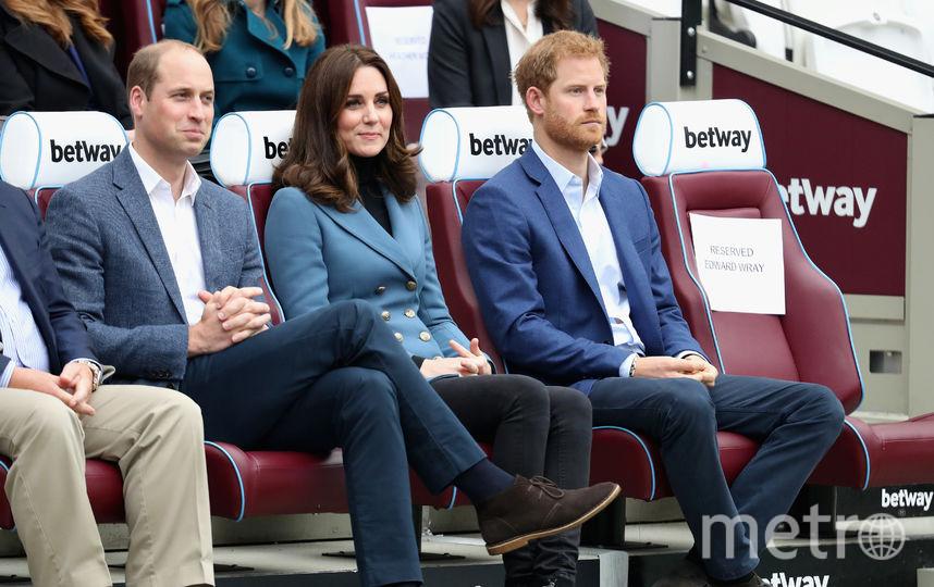 Беременная Кейт Миддлтон встретилась со спортсменами в Лондоне. Фото Getty