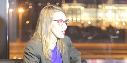 "Собчак 2014 год - в Петербурге. Фото ""Metro"""
