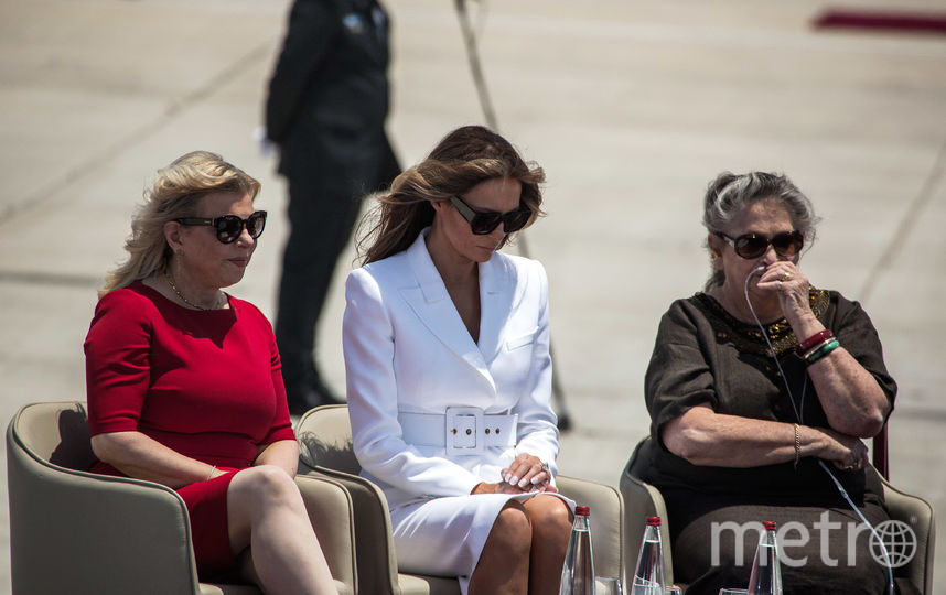 Американцы заподозрили подмену Мелании Трамп. Фото Getty