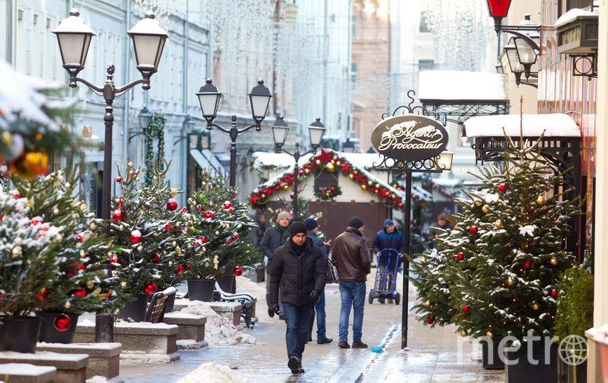 Предновогодние мероприятия в Москве начнутся 22 декабря. Фото Василий Кузьмичёнок