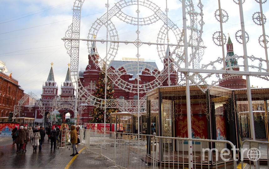 Москва на треть сократила расходы на новогодние мероприятия в 2018 году. Фото Василий Кузьмичёнок