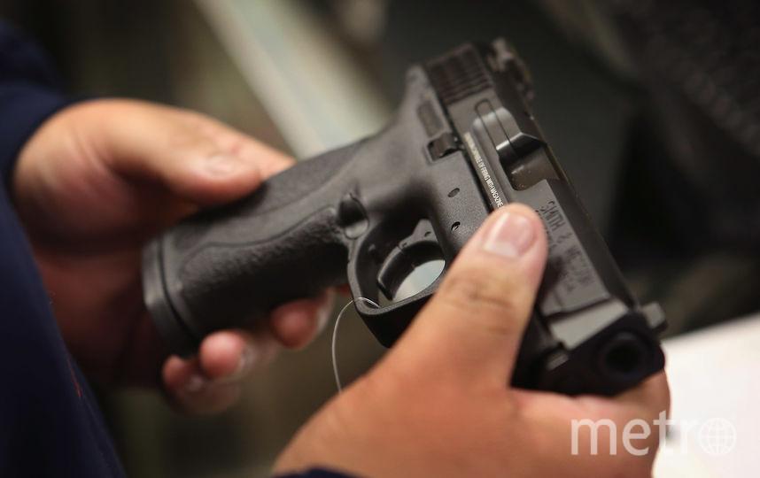 Пистолет. Фото Getty