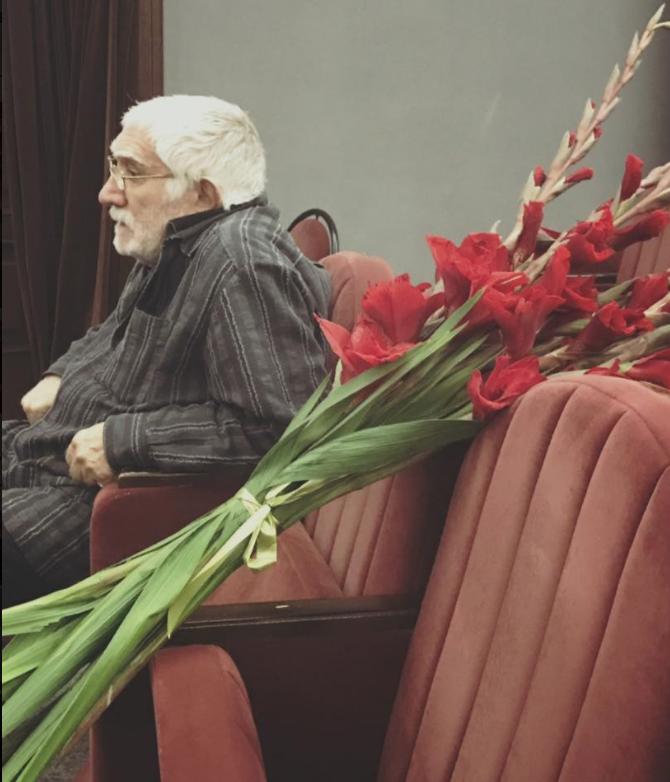 Армен Джигарханян. Фото https://www.facebook.com/vitalina.romanovskaya?fref=mentions