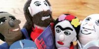 Куклы в виде Толстого, Фрейда и других гениев завоевывают мир
