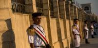 В Египте в схватке с террористами погибли десятки полицейских