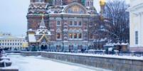 В воскресенье в Петербурге ждут первый снег