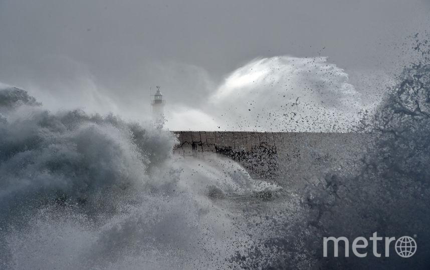"Шторм ""Брайан"". Фото AFP"