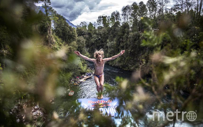 Паредес обошёл шестикратного чемпиона Ханта, который сорвал решающий прыжок.. Фото redbullcontentpool.com
