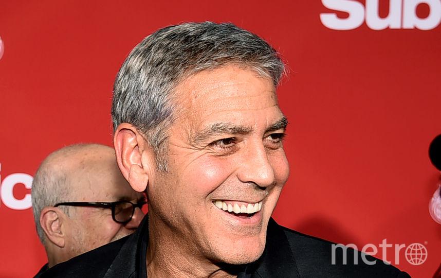 "Звёзды на премьере картины ""Субурбикон"".Звёзды на премьере картины ""Субурбикон"". Джордж Клуни. Фото Getty"