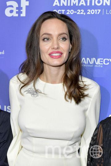 Анджелина Джоли в платье невесты. Фото Getty