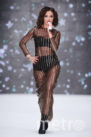 Ольга Бузова на показе Беллы Потёмкиной. Фото Press Center Mercedes-Benz Fashion Week Russia