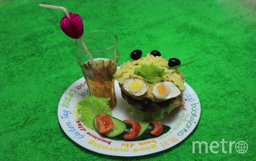 """""""Бутербродный ёжик"""" скрасит любую трапезу и подарит заряд хорошего настроения на весь день! Фото Князева Светлана Викторовна"""
