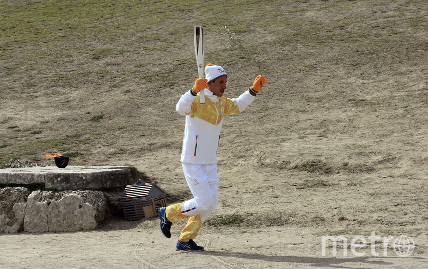 Греческий лыжник и биатлонист Апостолос Ангелис. Фото Getty