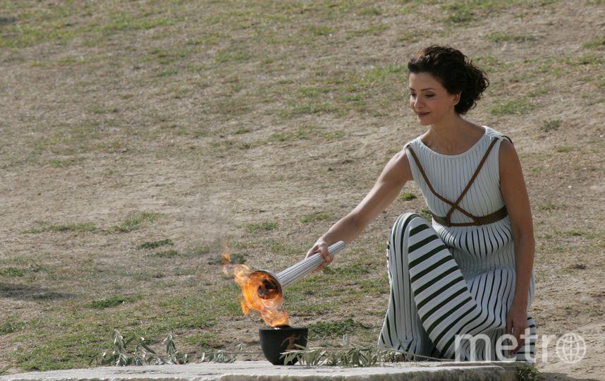 В Олимпии (Греция) прошла репетиция зажжения огня. Фото Getty