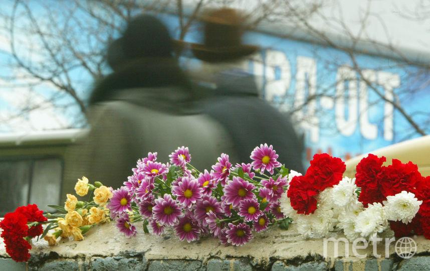 Цветы на месте трагедии. Фото Getty