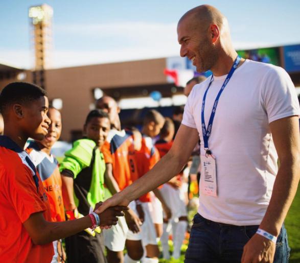 Зинедин Зидан признан лучшим тренером. Фото Скриншот instagram.com/zidane/