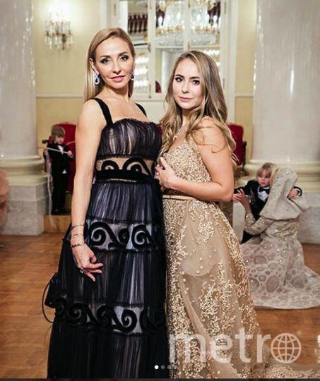 Звезды на Tatler-2017. Саша Жулина и Татьяна Навка. Фото Instagram