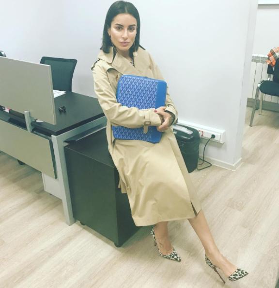 Тина Канделаки. Фото скриншот https://www.instagram.com/tina_kandelaki/?hl=ru