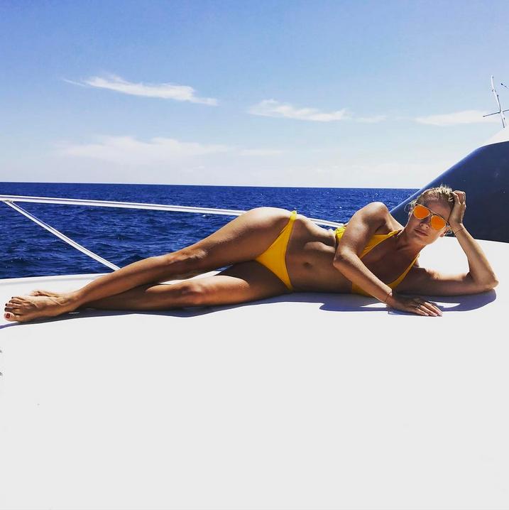 Елена Летучая вышла на подиум без нижнего белья. Фото Скриншот Instagram: elenapegas