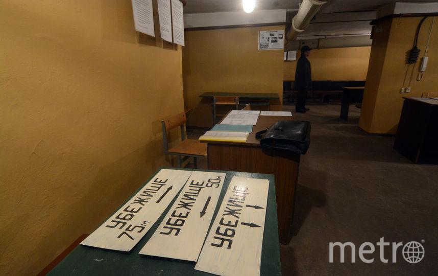 Адреса бомбоубежищ держат в тайне. Фото Елена Пальм., Интерпресс