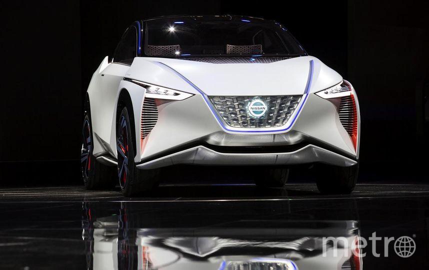 Автосалон в Токио-2017. Nissan - IMx EV concept. Фото Getty