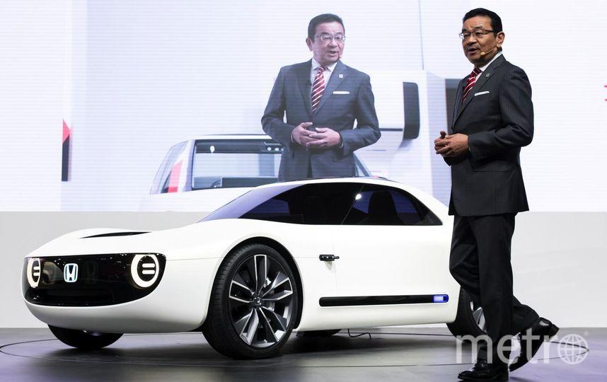 Автосалон в Токио-2017. Honda Sports EV Concept. Фото Getty