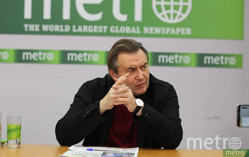 Алексей Учитель в редакции Metro-Москва. Фото Василий Кузьмичёнок