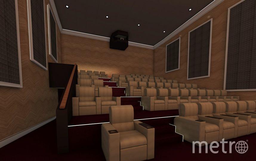 Улучшнный зрительный зал. Фото предоставлено ADG group