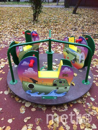 Детская площадка. Фото Все фото - vk.com/vasilyevskiyostrov