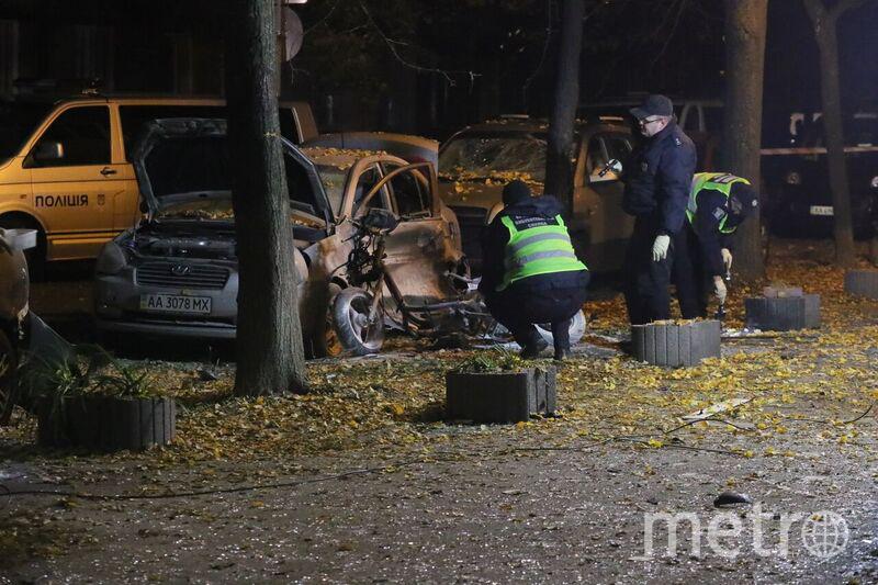 В центре Киева произошёл взрыв. Фото AFP
