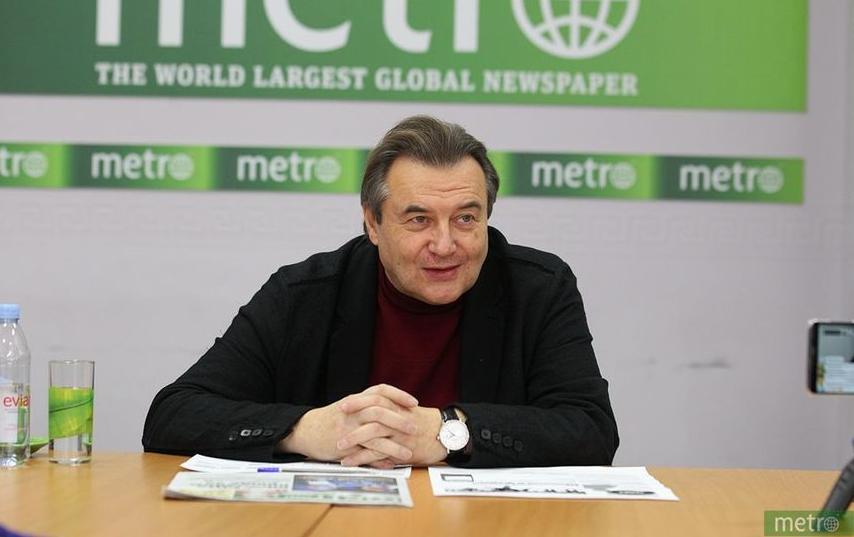 Алексей Учитель, режиссёр. Фото Василий Кузьмичёнок