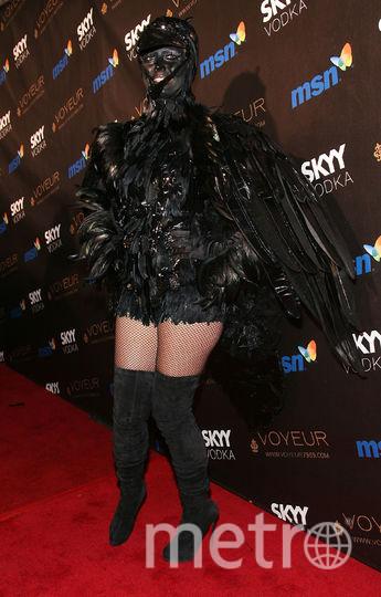 Самые безумные образы Хайди Клум на Хеллоуин за последние годы. Фото Getty