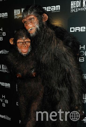 Хайди Клум и Сил. Фото Getty