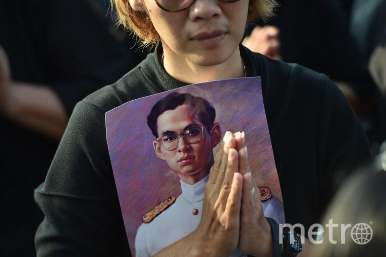 Церемония прощания с королём Рамой IX. Фото AFP