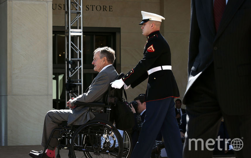 Джордж Буш-старший. Фото Getty