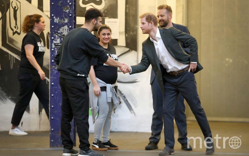 Принц Гарри встретился с жителями Копенгагена. Фото Getty