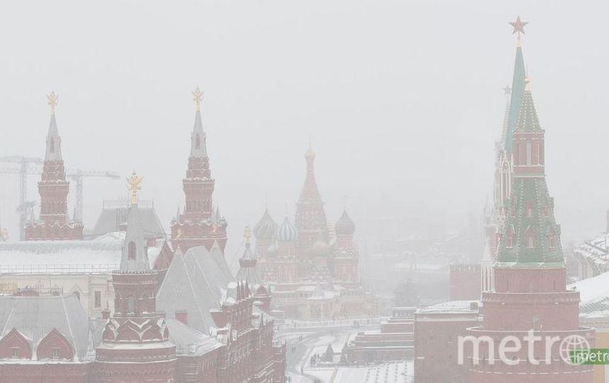 Москву ожидают метель и 9-бальные пробки. Фото Василий Кузьмичёнок