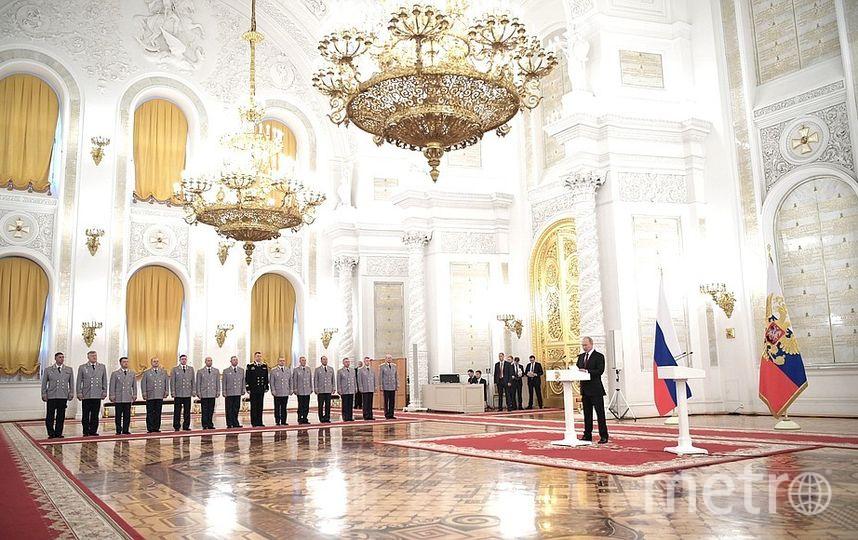 Выступление Владимира Путина в Кремле. Фото kremlin.ru