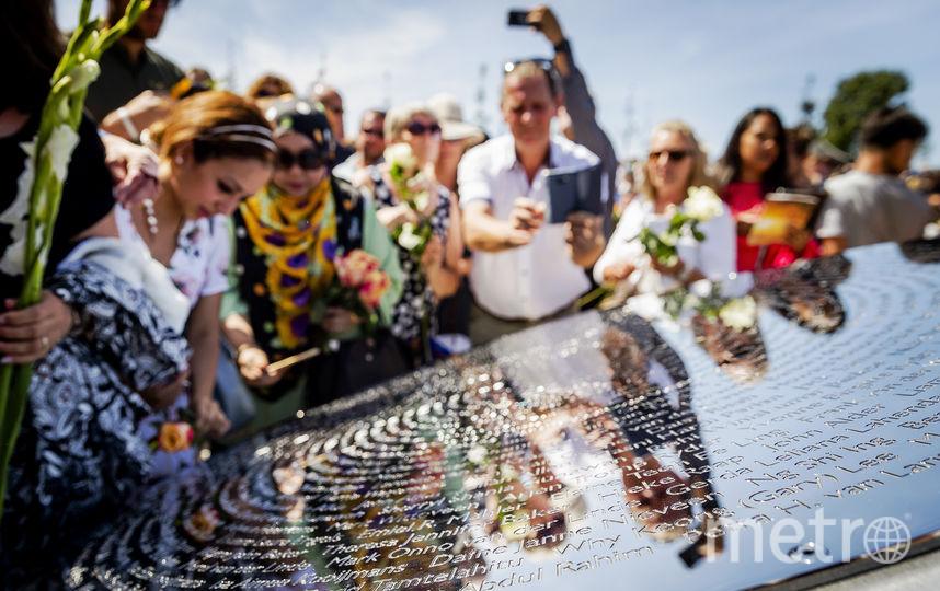 Мемориал на месте трагедии MH17. Фото Getty
