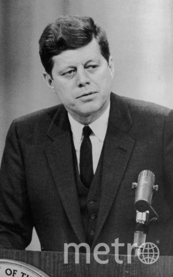 35-ый президент США Джон Кеннеди. Фото Getty