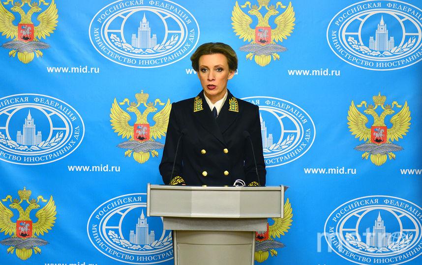 Официальный представитель МИД РФ Мария Захарова. Фото Wikipedia/ДИП МИД РФ