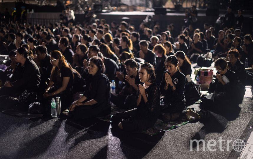 В Таиланде началась кремация короля Рамы IX. Фото AFP