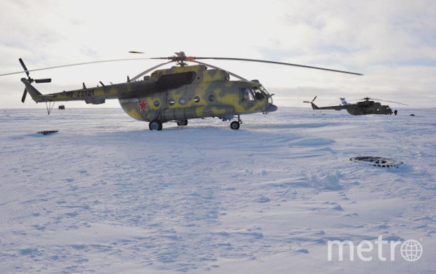 Вертолёт Ми-8. Фото РИА Новости
