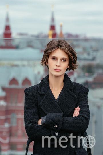 Марина Вакт в Москве. Фото Пресс-служба A One films, Александр Мурашкин.
