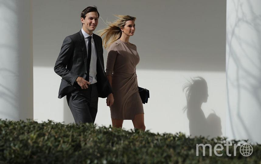 Джаред Кушнер и Иванка Трамп. Фото AFP