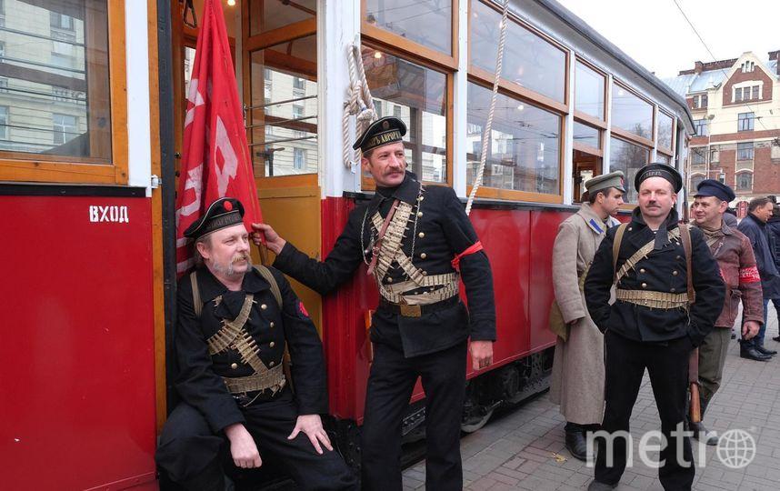 """Трамвай идёт от бывшего Путиловского завода. Фото Алена Бобрович, """"Metro"""""""