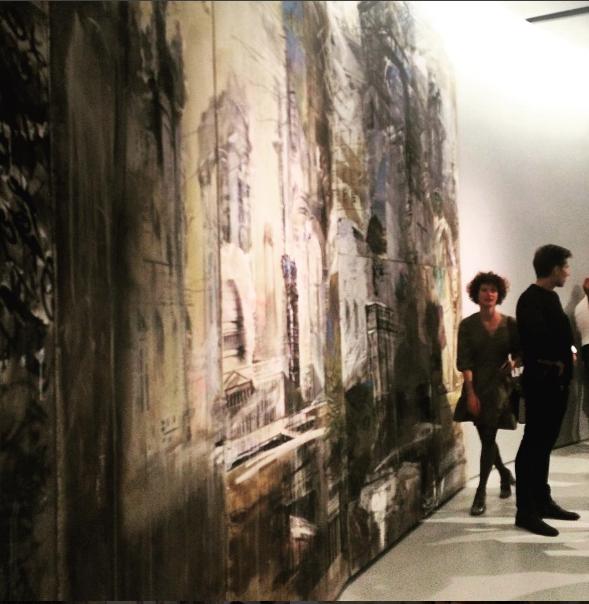 Фото с выставки Валерия Кошлякова в Москве в 2016 году. Фото Instagram