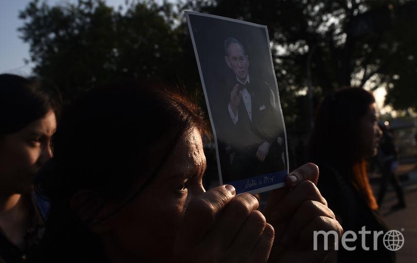 Таиланд прощается с королём. Фото AFP